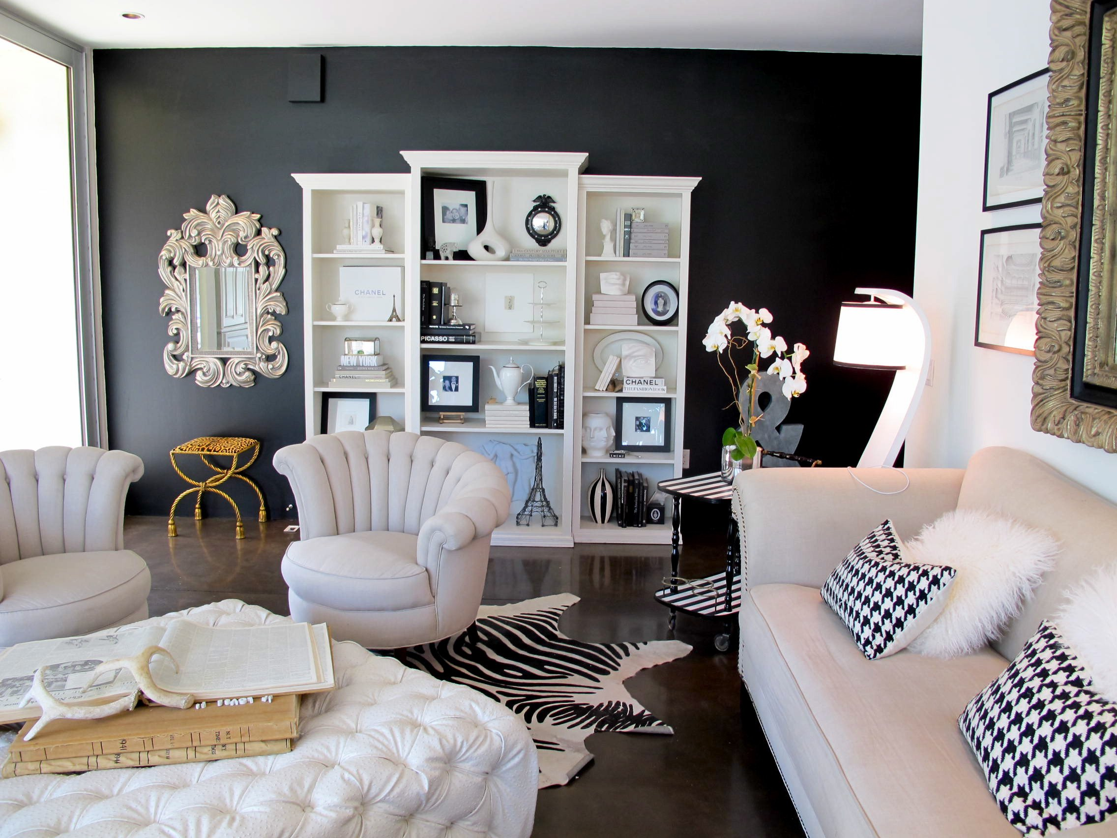 Accent Decor for Living Room Luxury Accent Wall
