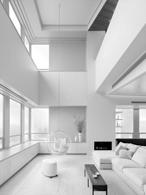 All White Living Room Decor Awesome All Shades White 30 Beautiful Living Room Designs