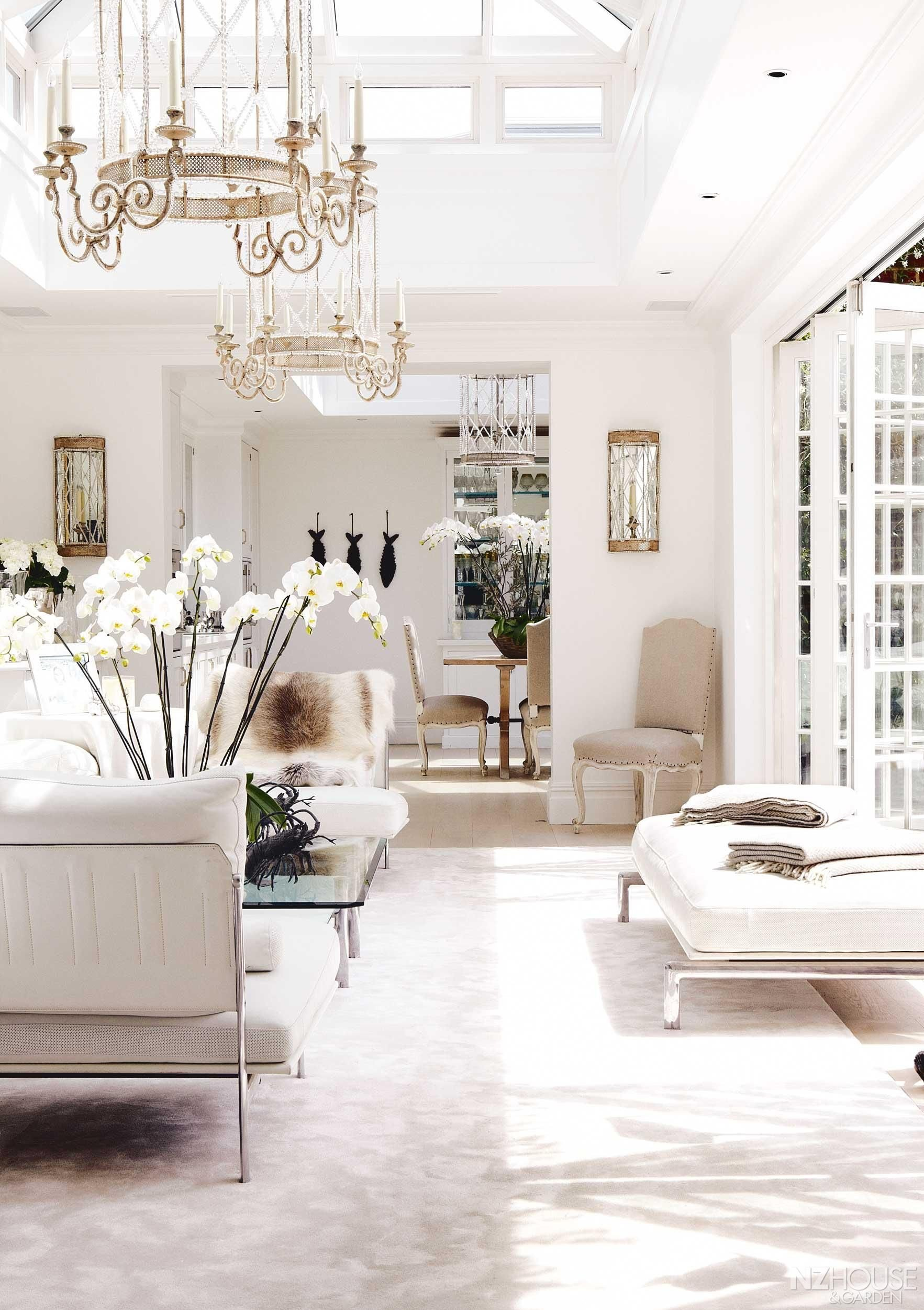 All White Living Room Decor Best Of An All White London Mansion Nz House and Garden