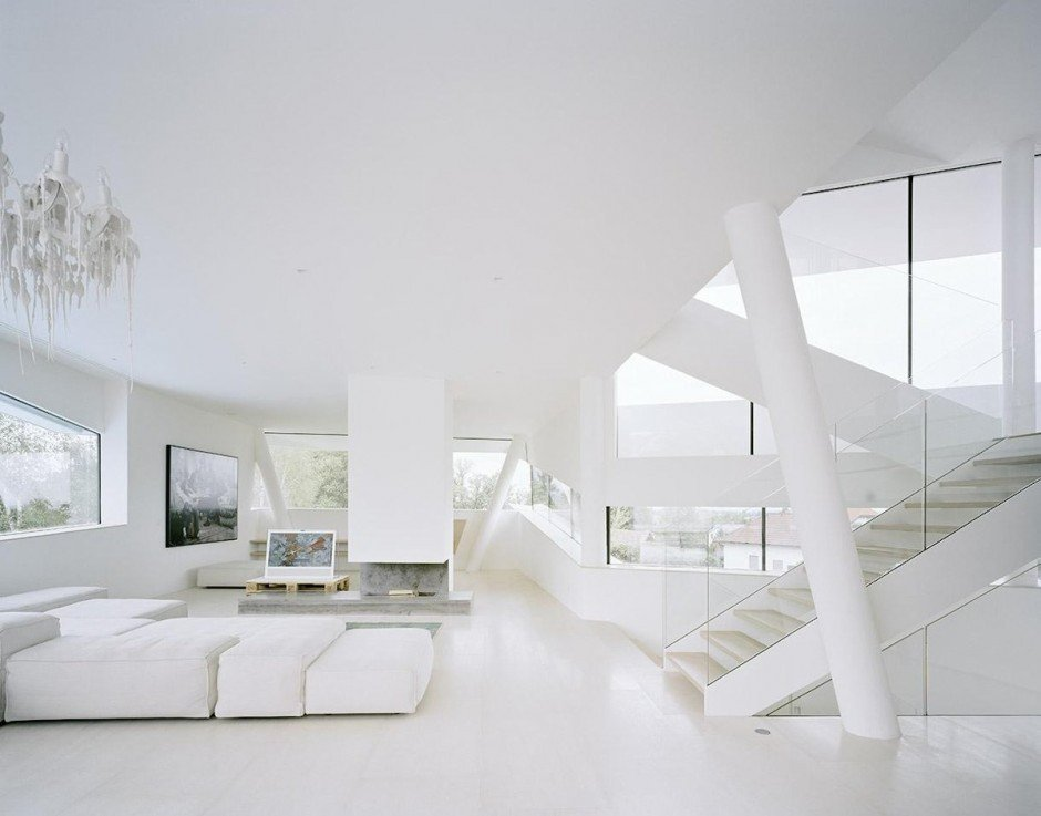 All White Living Room Decor Elegant White Living Room