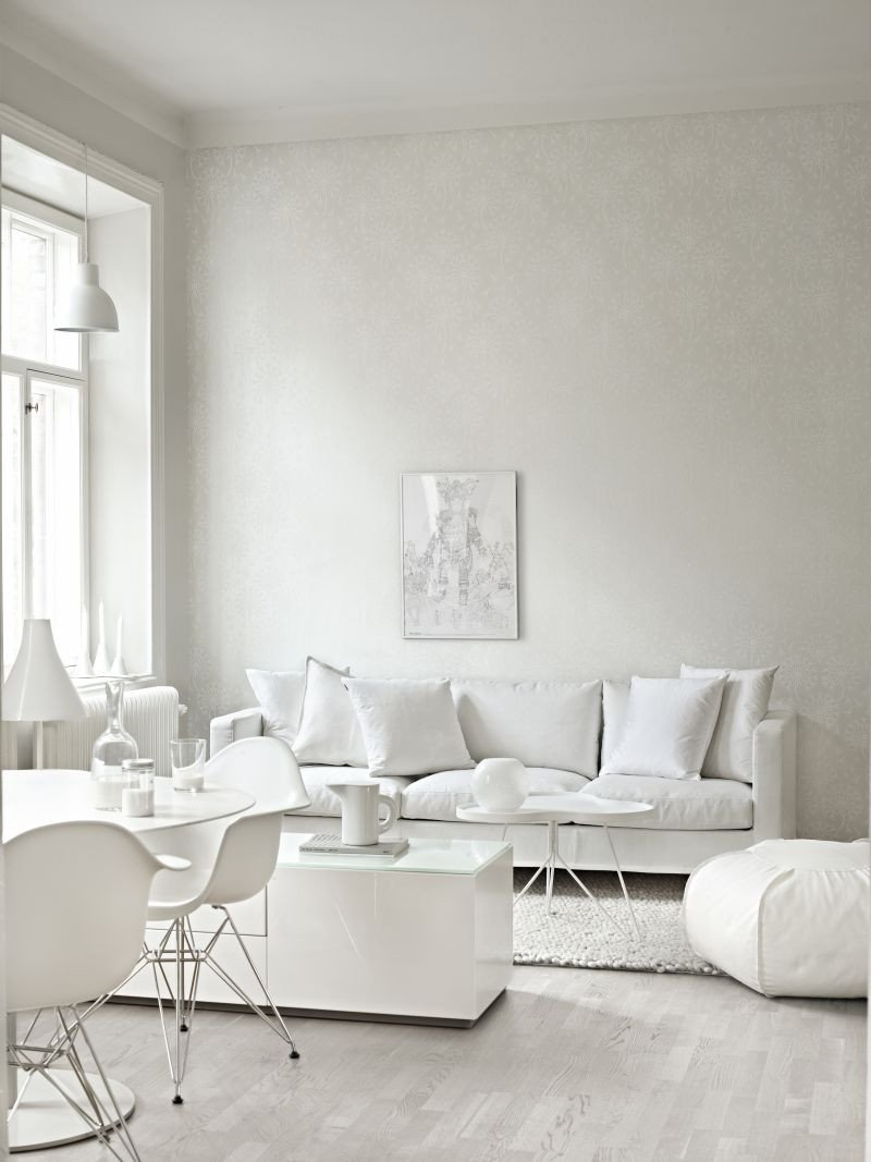 All White Living Room Decor Inspirational Decordots 2013 December