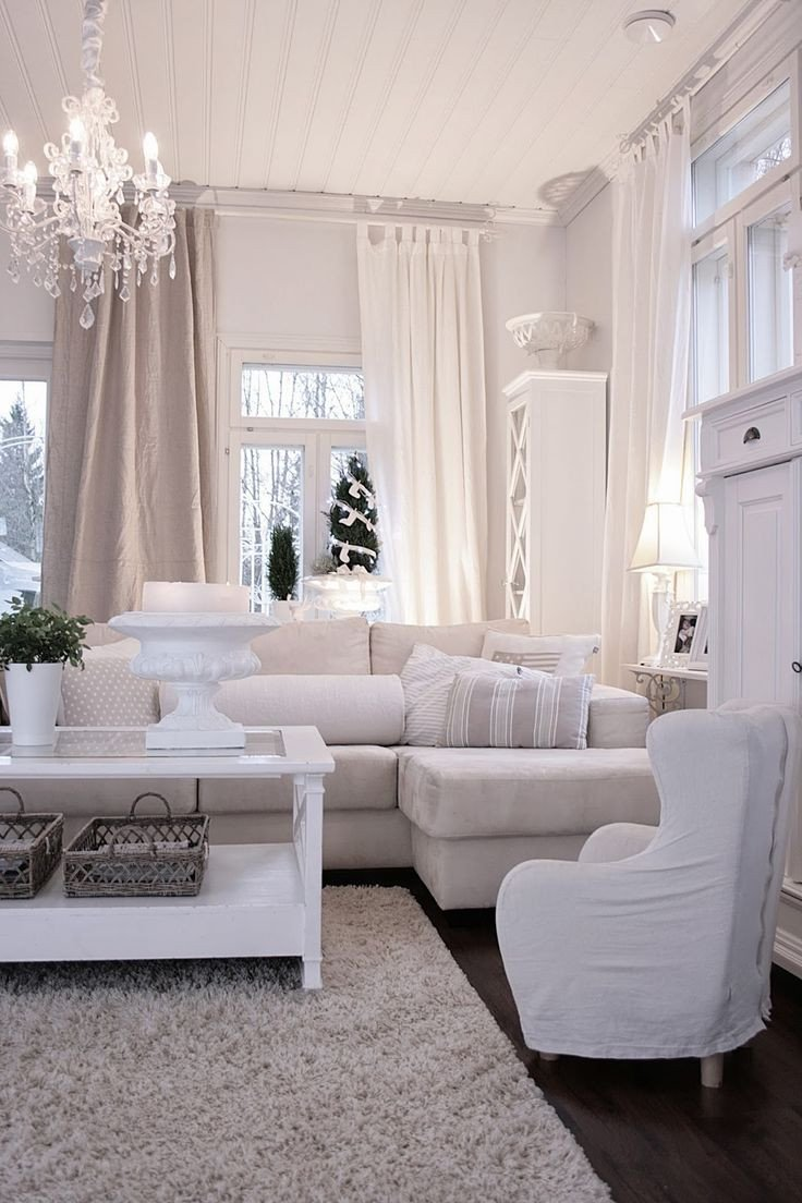 All White Living Room Decor New 10 Home Décor Tricks to Brighten Up A Dark Room