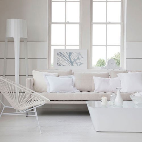 All White Living Room Decor Unique Witte Woonkamer Inrichten