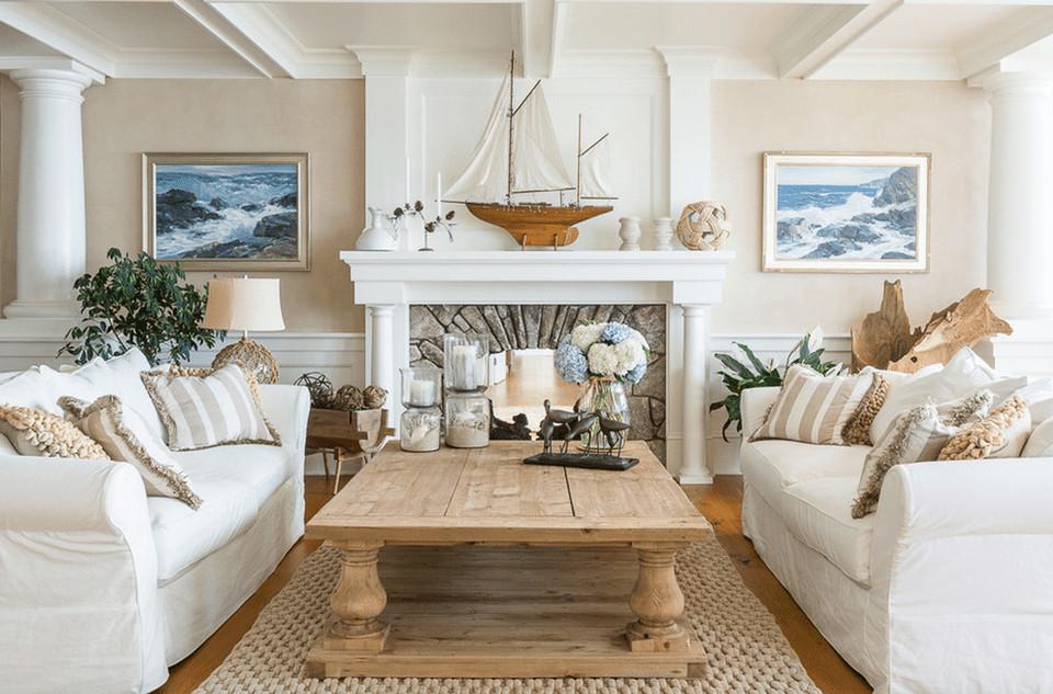 Beach House Living Room Decor Awesome 20 Beautiful Beach House Living Room Ideas