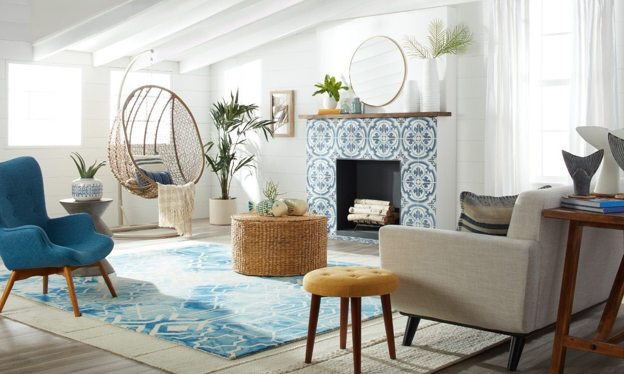 Beach House Living Room Decor Beautiful Fresh & Modern Beach House Decorating Ideas Overstock