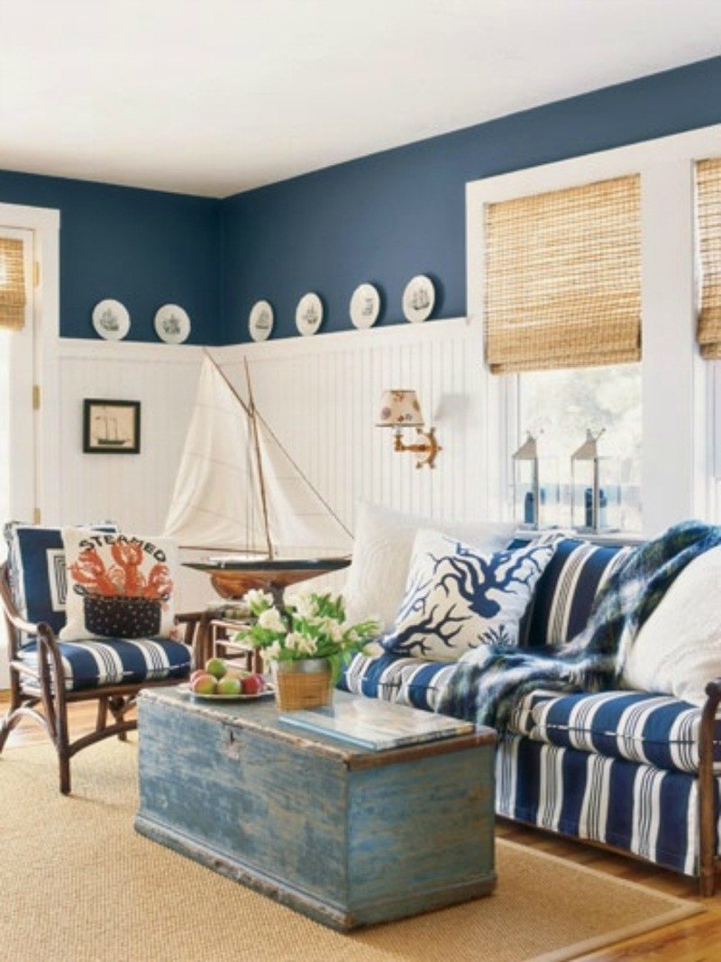 Beach House Living Room Decor Elegant 40 Chic Beach House Interior Design Ideas Loombrand