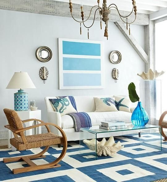 Beach House Living Room Decor Elegant Modern Coastal Decor
