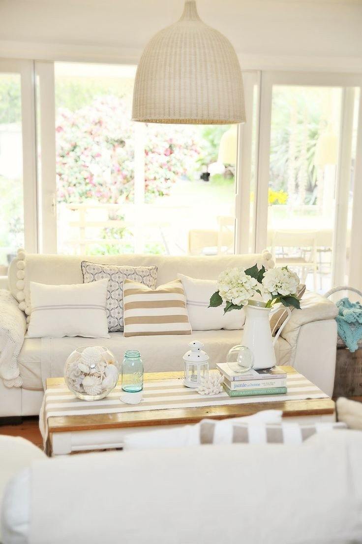 Beach House Living Room Decor Fresh Neutral Coastal Decor In the Living Room