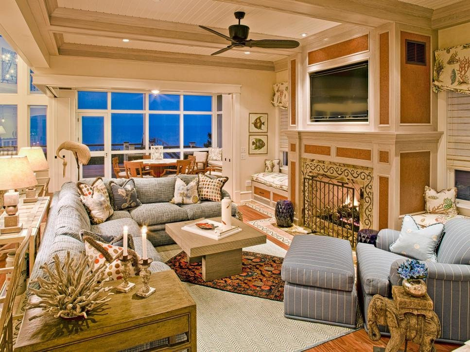 Beach House Living Room Decor Luxury Coastal Living Room Ideas