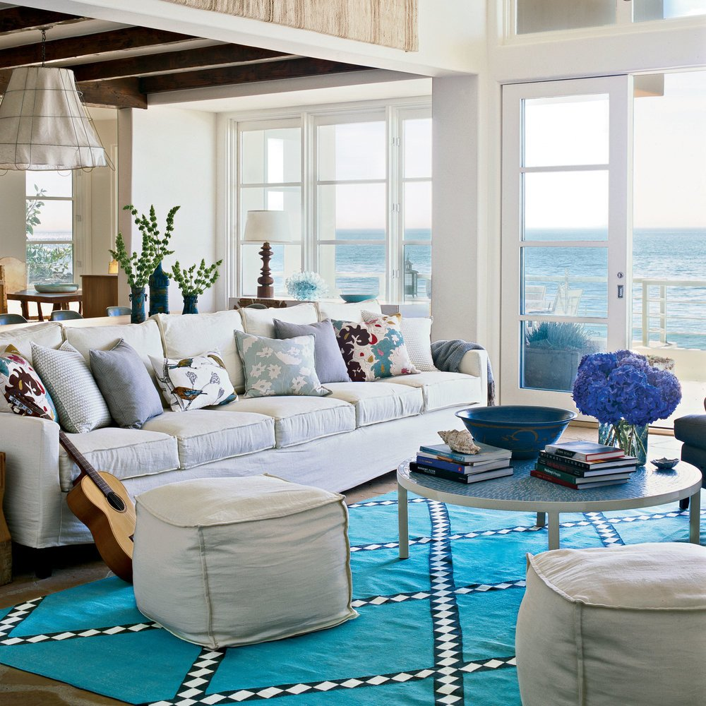 Beach House Living Room Decor New Coastal Living Room Decor Colorful Cozy Spaces