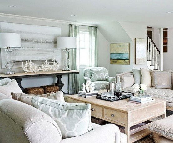 Beach themed Living Room Decor Beautiful 37 Sea and Beach Inspired Living Rooms Digsdigs