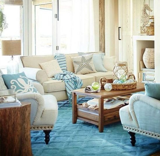 Beach themed Living Room Decor Fresh 17 Best Ideas About Coastal Living Rooms On Pinterest