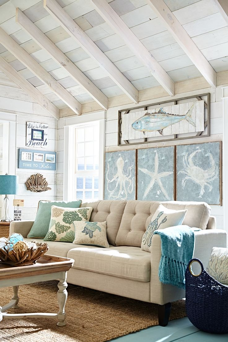 Beach themed Living Room Decor Fresh Best 25 Beach Living Room Ideas On Pinterest