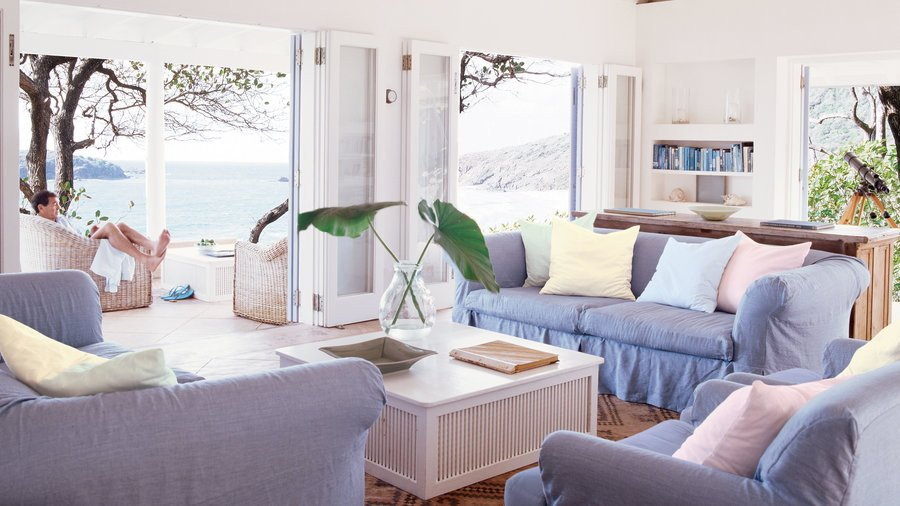 Beach themed Living Room Decor Lovely 48 Beautiful Beachy Living Rooms Coastal Living