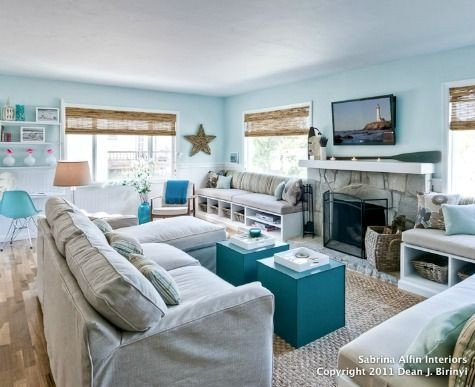 Beach themed Living Room Decor Unique 12 Small Coastal Living Room Decor Ideas with Great Style