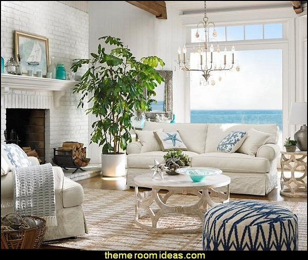 Beach themed Living Room Decor Unique Best 25 Seaside Cottage Decor Ideas On Pinterest