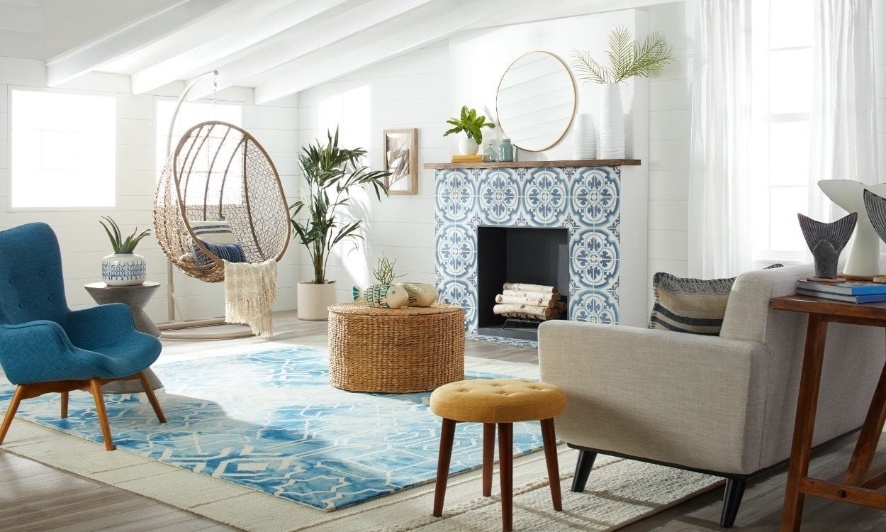 Beach themed Living Room Decor Unique Fresh & Modern Beach House Decorating Ideas Overstock