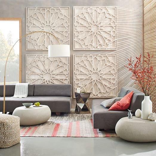 Big Wall Decor Living Room Beautiful 17 Best Ideas About Wall Art On Pinterest