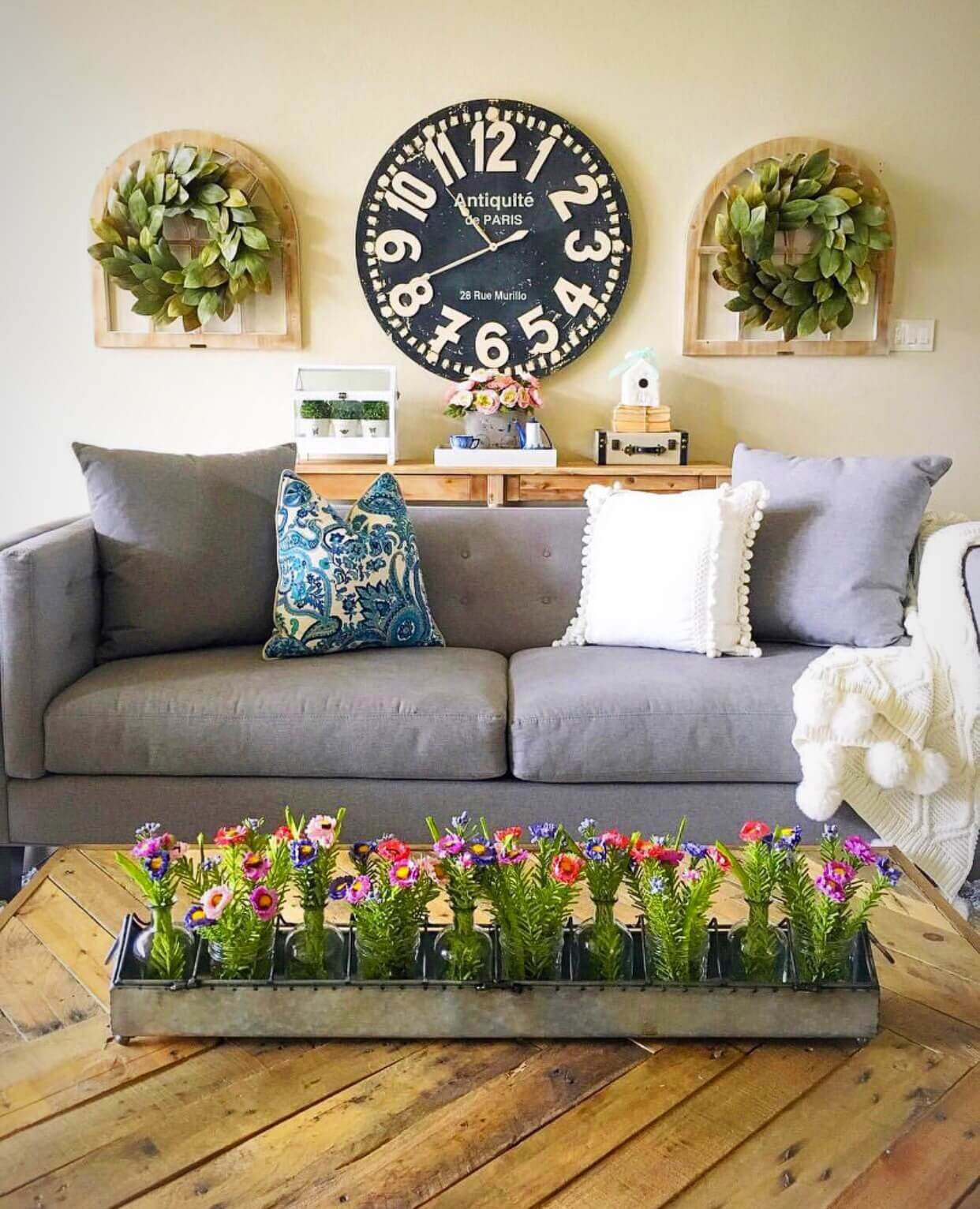 Big Wall Decor Living Room Lovely 33 Best Rustic Living Room Wall Decor Ideas and Designs