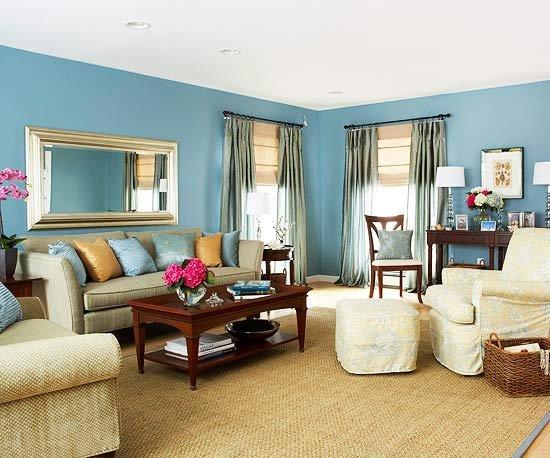 Blue Living Room Decor Ideas Lovely Blue Living Room Decor 2017 Grasscloth Wallpaper