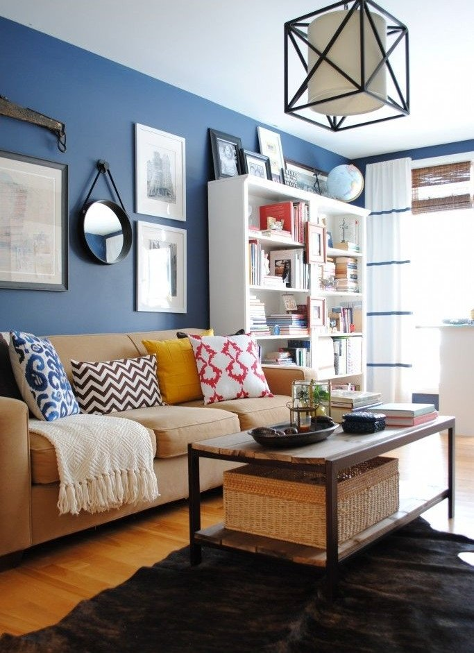 Blue Living Room Decor Ideas Lovely Unique Blue and White Living Room Design Ideas