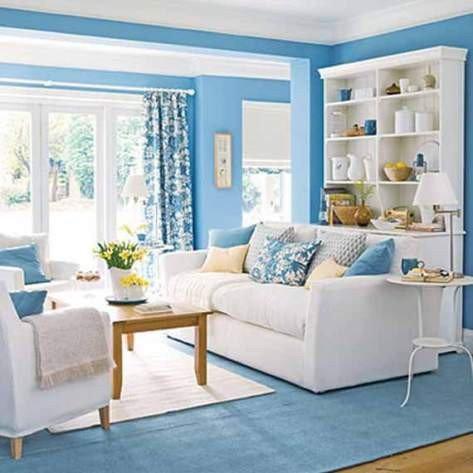 Blue Living Room Decor Ideas New Blue Living Room Decorating Ideas Interior Design