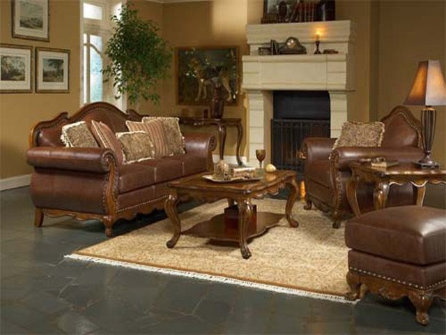 Brown Furniture Living Room Decor Luxury Small Log Cabin Interior Design Ideas