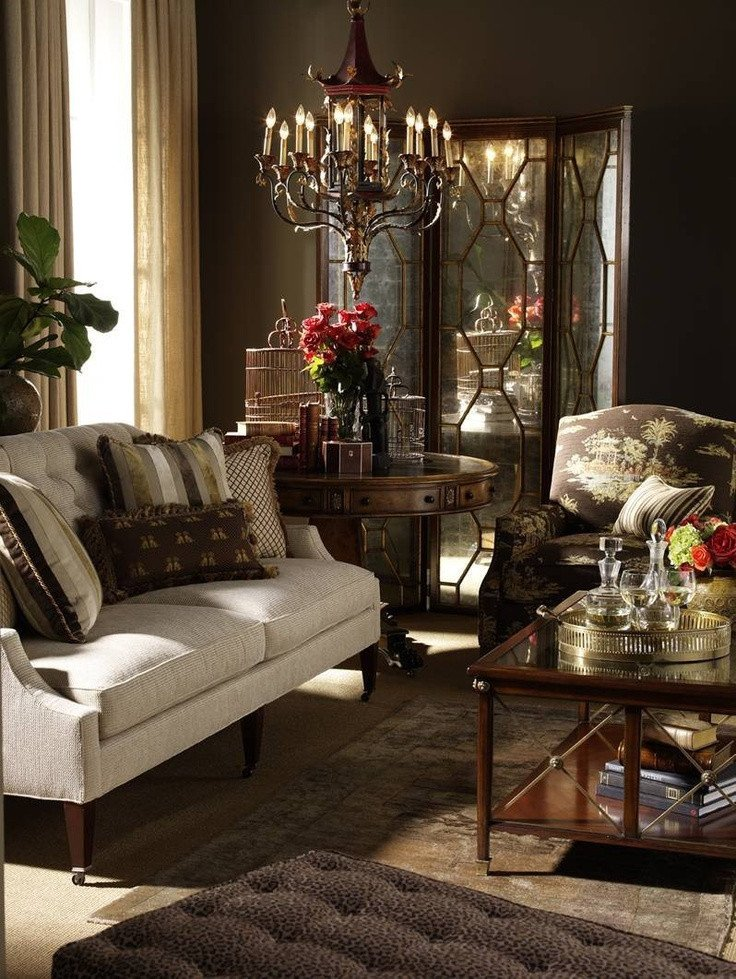 Brown Living Room Decor Ideas Elegant Traditional Living Room Decorating Ideas
