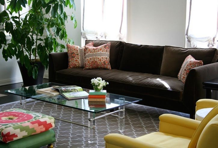 Brown sofa Living Room Decor Lovely Brown Couch Grey Rug Living Room Pinterest
