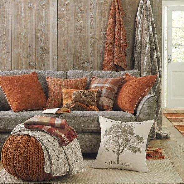 Burnt orange Living Room Decor Lovely 5 Decorating Ideas to Take From Next Home