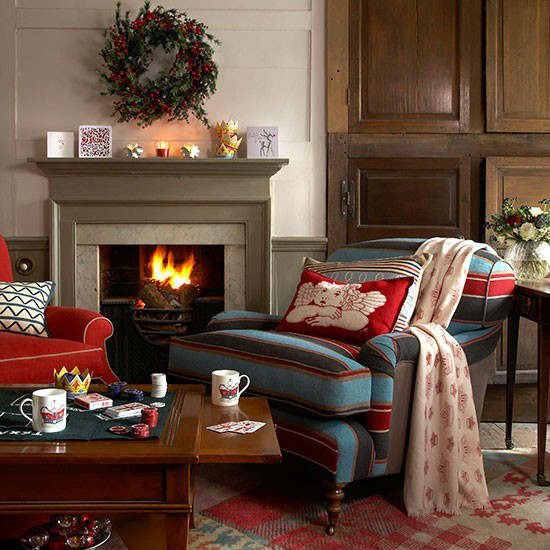 Country Living Room Decor Ideas Awesome 33 Best Christmas Country Living Room Decorating Ideas