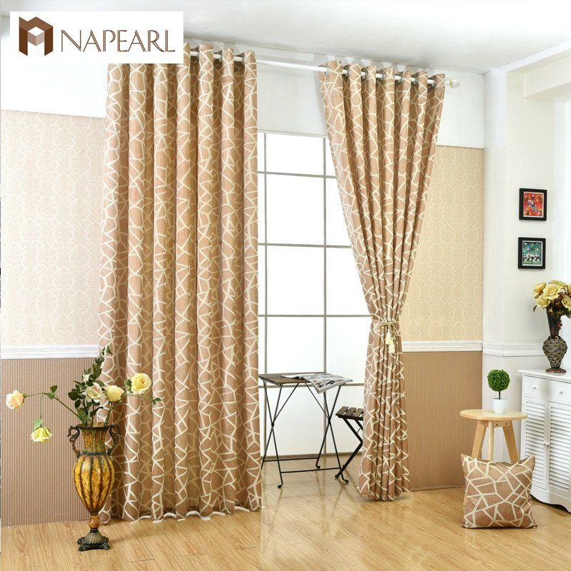 Curtains for Living Room Ideas Lovely Geometric Jacquard Modern Curtains Simple Design Living