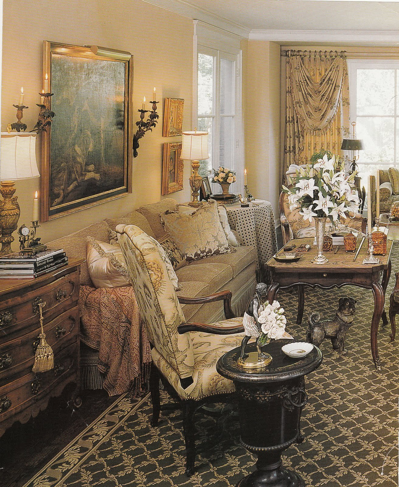 French Country Decor Living Room Unique Hydrangea Hill Cottage French Country Decorating