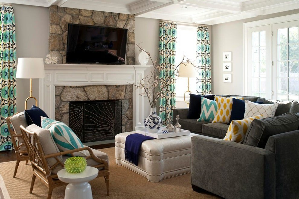 Grey Couch Living Room Decor Beautiful 24 Gray sofa Living Room Designs Decorating Ideas