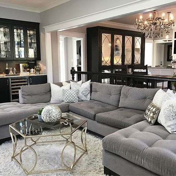 Grey Couch Living Room Decor Beautiful 25 Best Ideas About Dark Couch On Pinterest