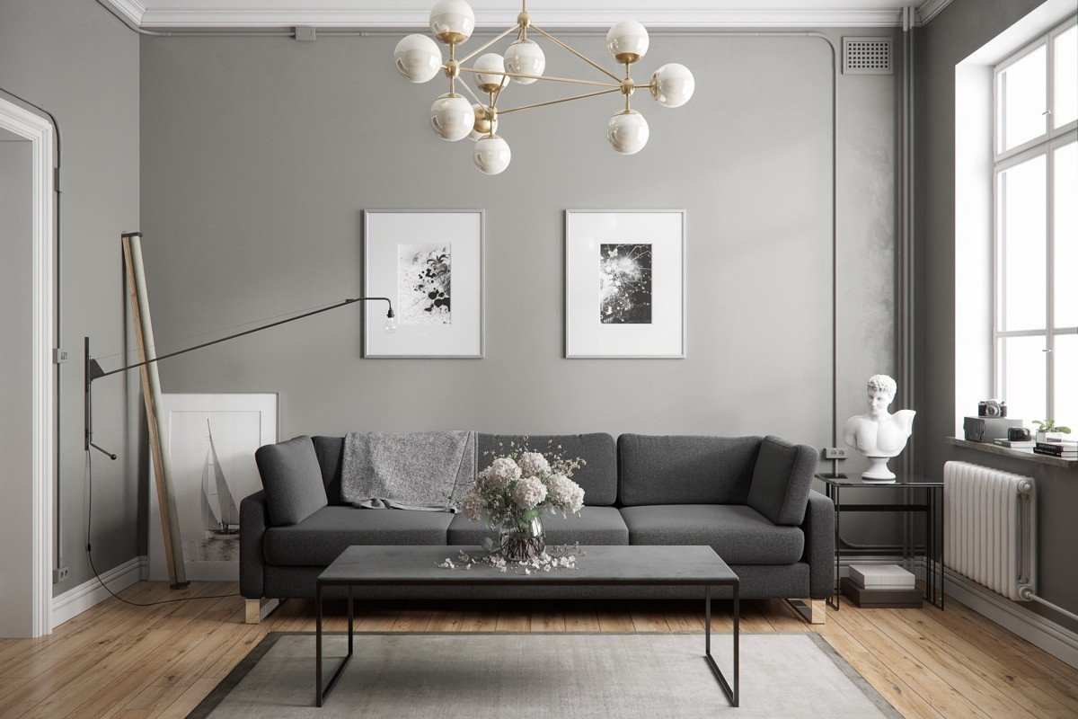 Grey Couch Living Room Decor New 40 Grey Living Rooms that Help Your Lounge Look