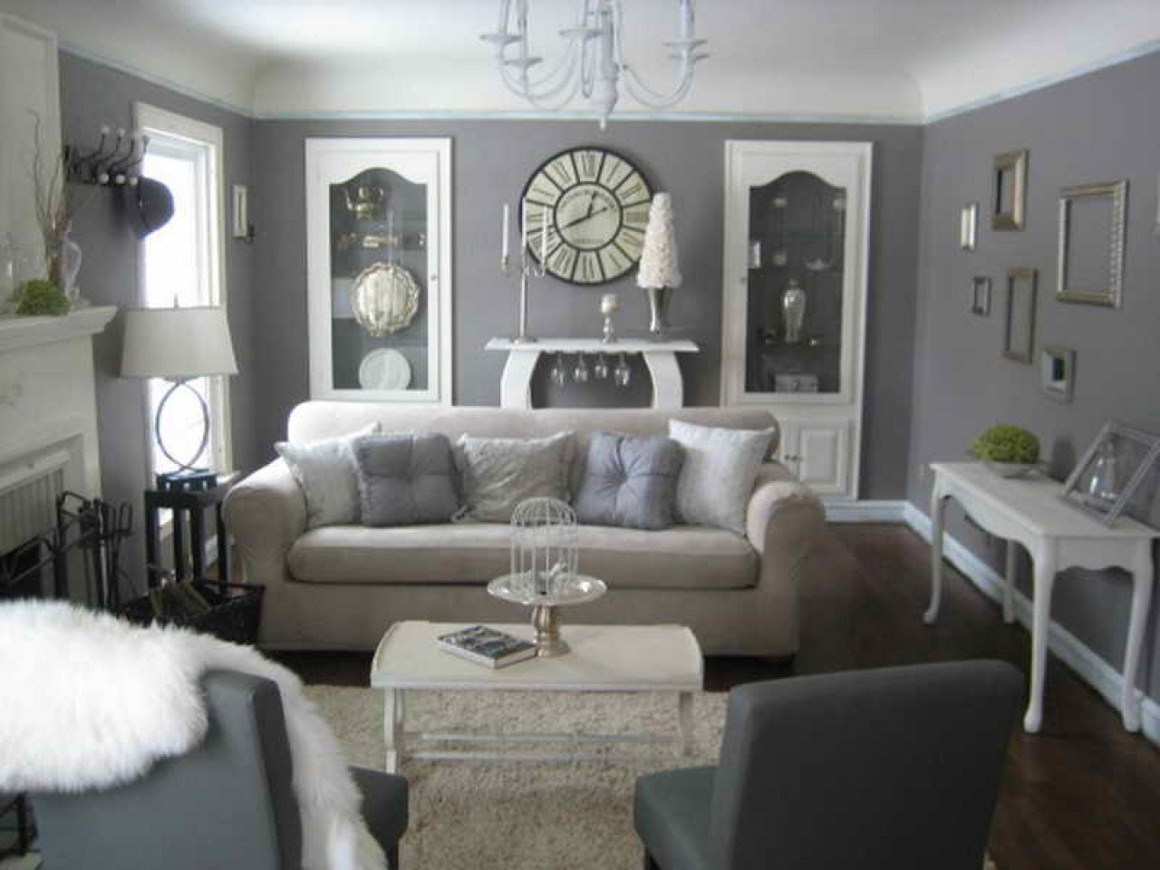 Grey Living Room Decor Ideas Best Of Decorating with Gray Furniture Grey and Cream Living Room