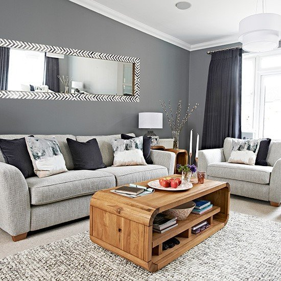 Grey Living Room Decor Ideas Unique Chic Grey Living Room with Clean Lines