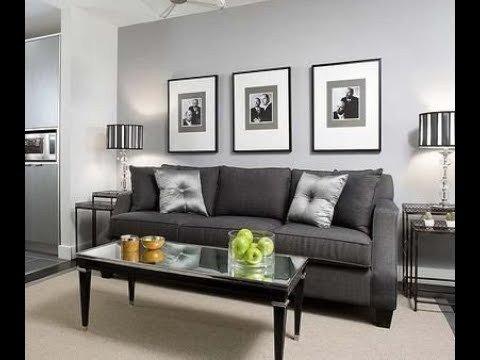 Grey Living Room Decor Ideas Unique Living Room Grey Walls Black Furniture Interior Design