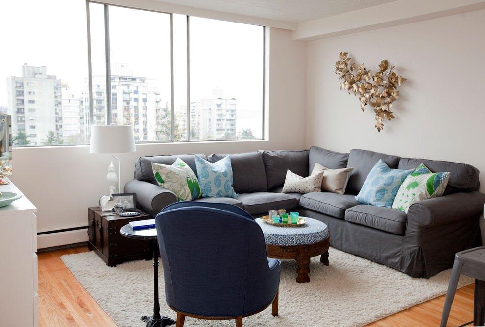 Grey sofa Living Room Decor Inspirational 24 Gray sofa Living Room Furniture Designs Ideas Plans