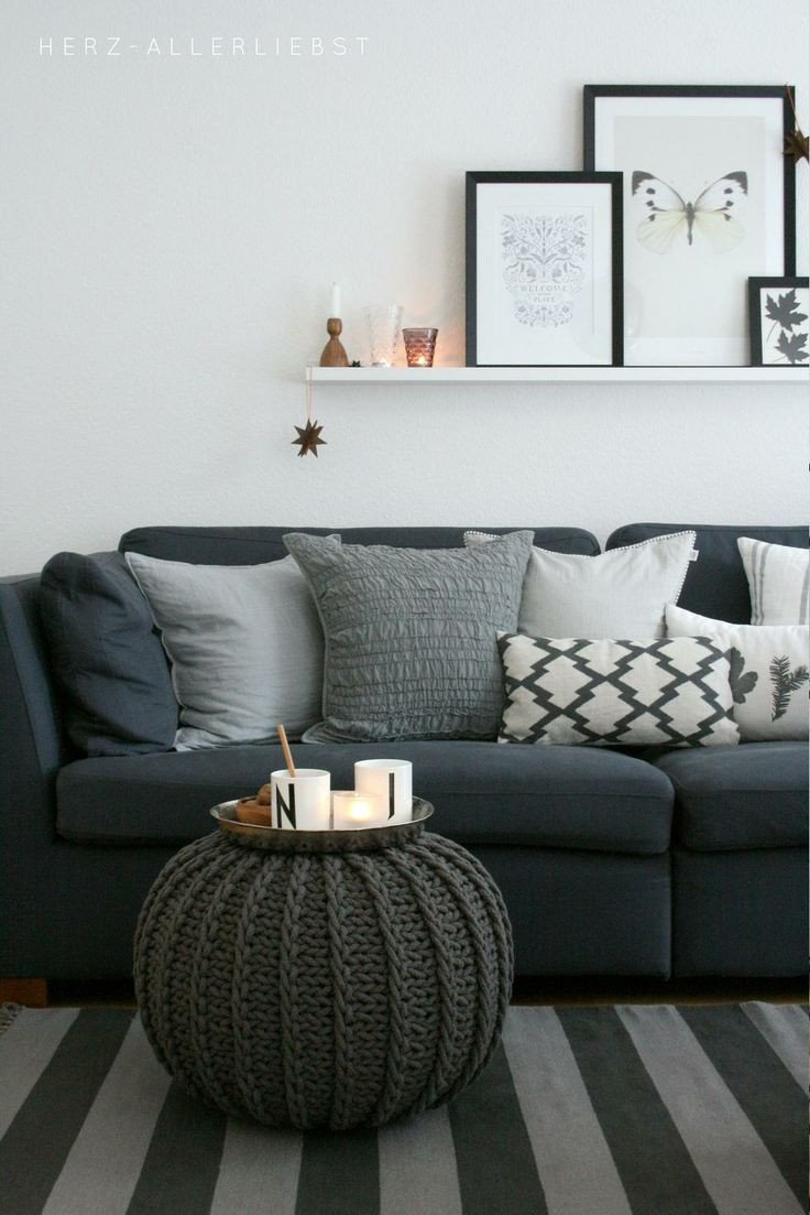 Grey sofa Living Room Decor Lovely Gray Neutral Living Room Haus