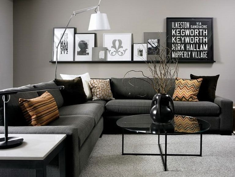 Grey sofa Living Room Decor Luxury 69 Fabulous Gray Living Room Designs to Inspire You