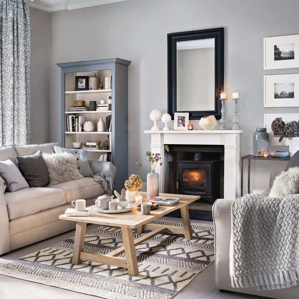 Grey sofa Living Room Decor Unique 23 Grey Living Room Ideas for Gorgeous and Elegant Spaces