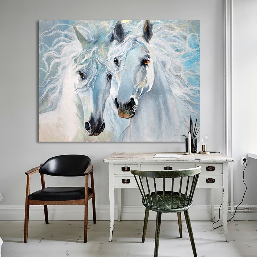 Horse Decor for Living Room Best Of Hdartisan Canvas Art Animal Painting Wall for