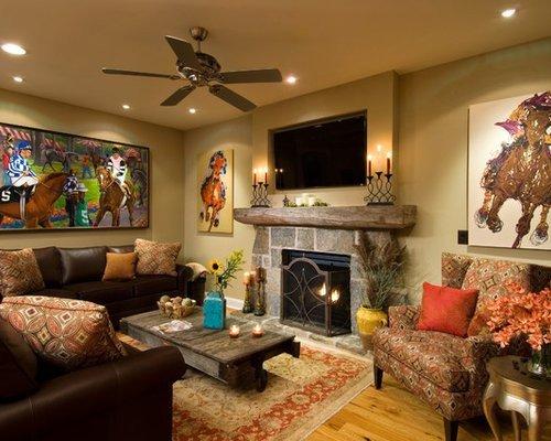 Horse Decor for Living Room Fresh Reclaimed Wood Mantle