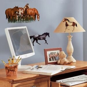 Horse Decor for Living Room Unique 24 New Wild Horses Wall Decals Horse Room Stickers Kids