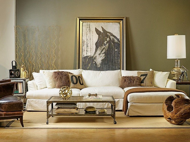 Horse Decor for Living Room Unique Fashion Interiors by High Fashion Home