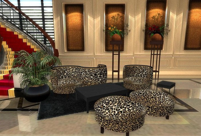 Leopard Decor for Living Room Beautiful Second Life Marketplace Leopard S Living Room Set Boxed