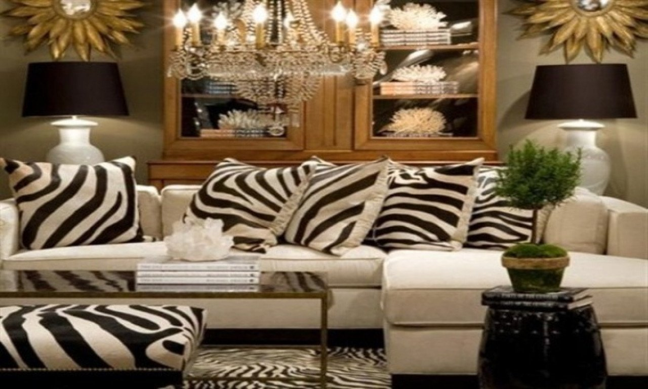 Leopard Decor for Living Room Elegant Zebra Print Living Room Decor Zion Star