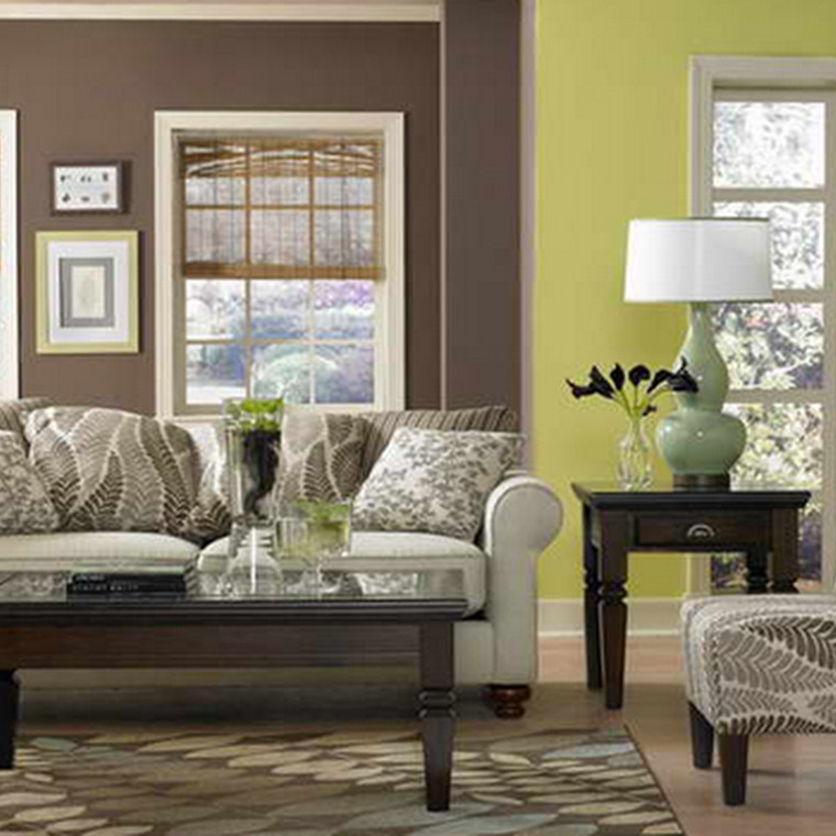 Lime Green Living Room Decor Awesome Lime Green and Brown Living Room